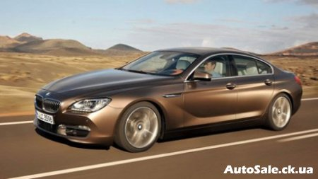 Новый BMW 6 Series Gran Coupe: баварский вихрь