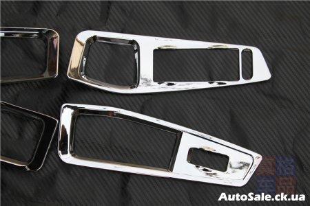 Хромированные накладки на стекло подъемники Chery Tiggo 5