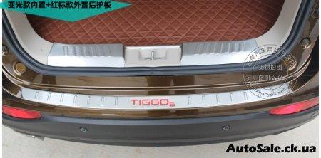 Хром пакет салона Chery Tiggo 5. Тюнинг Чери Тиго 5 в Украине 2015-2016