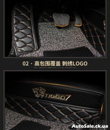 Коврики в салон и багажник новый Chery Tiggo 7 Украина.