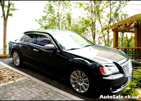 Дефлекторы Chrysler 300C